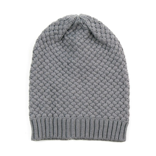 Čepice Wide Grey