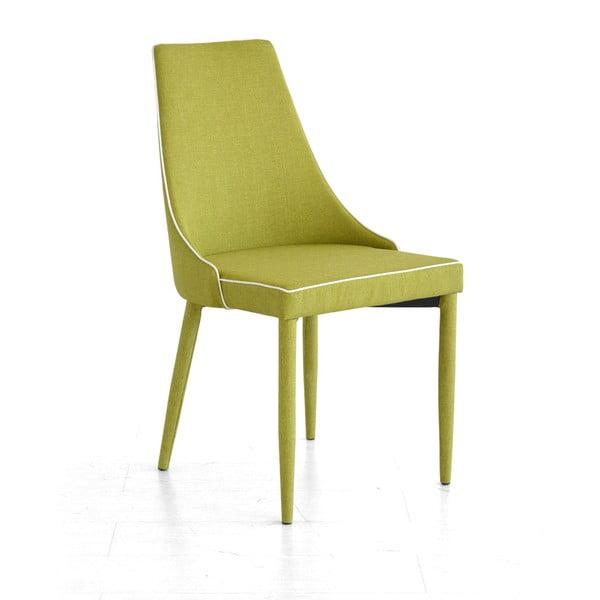 Jídelní židle Plana, zelená