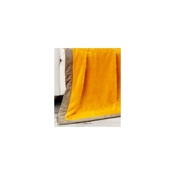 Deka Cuddly Yellow, 180x220 cm