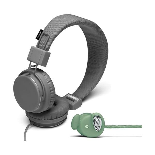 Sluchátka Plattan Dark Grey + sluchátka Medis Sage ZDARMA