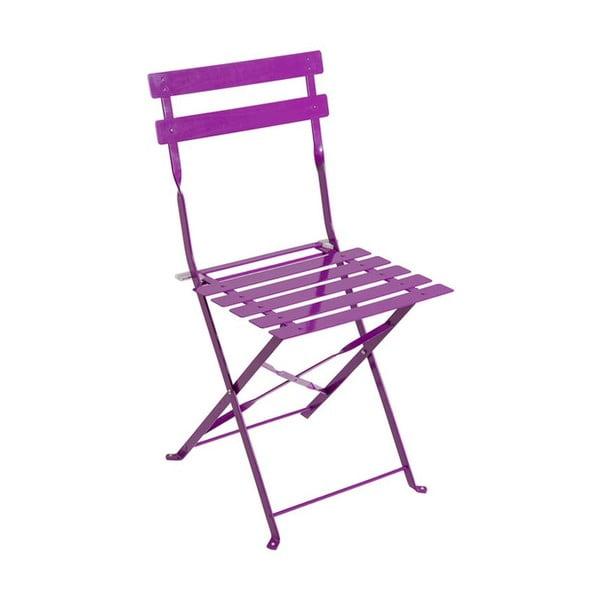 Skládací židle Avila Purple, 77x45x40 cm