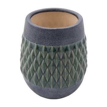 Vază din ceramică Zuiver Nito Moss, înălțime 23 cm de la Zuiver