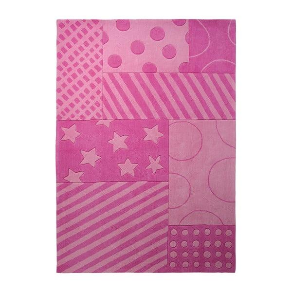 Koberec Esprit Stars Stripes Pink, 140x200 cm