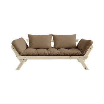 Canapea extensibilă Karup Design Bebop Natural/Mocca de la Karup Design