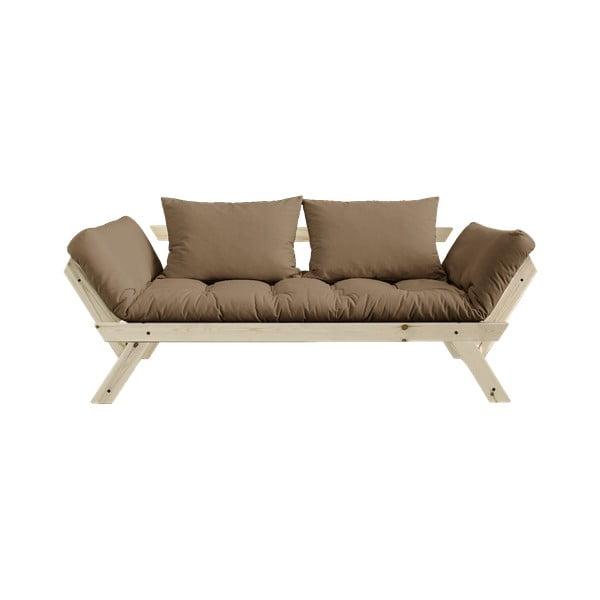 Bebop Natural/Mocca barna kinyitható kanapé - Karup Design