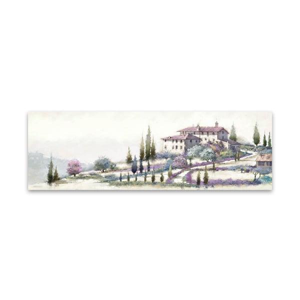 Tablou imprimat pe pânză Styler Tuscany, 140 x 45 cm