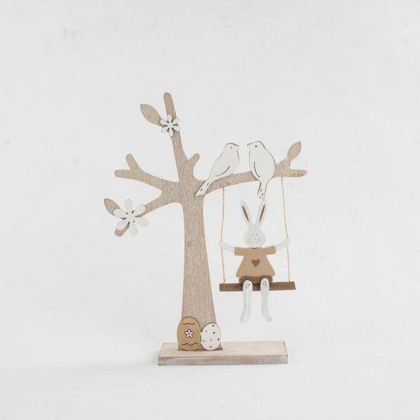 Dřevěná dekorace Dakls Tree With Swing