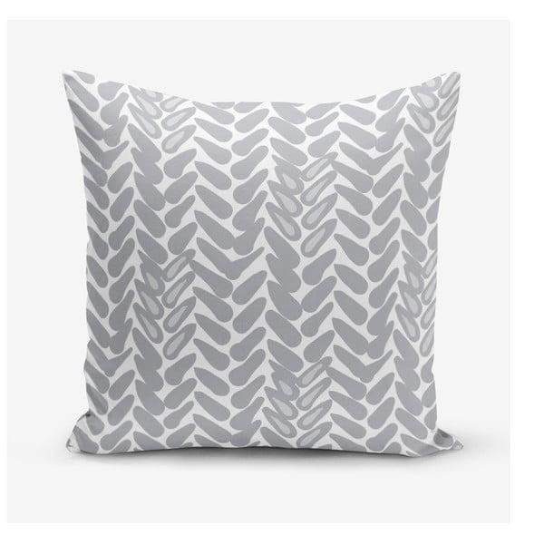 Povlak na polštář s příměsí bavlny Minimalist Cushion Covers Metrica, 45 x 45 cm