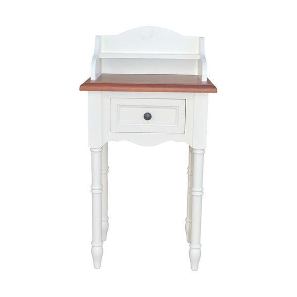 Odkládací stolek se zástěnou Spruce