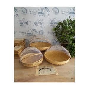 Sada 3 bambusových misek Orchidea Milano