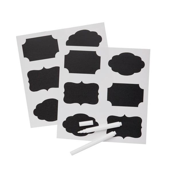 Sada 12 tabulových štítků na označení zavařenin KitchenCraft Home Made