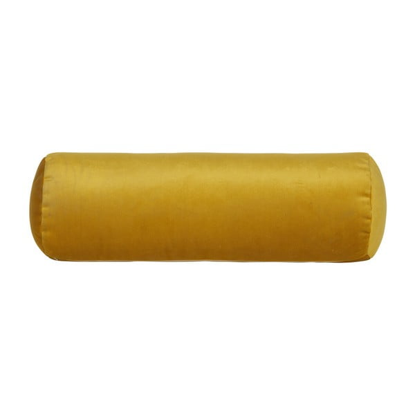 Žltý vankúš BePureHome Spool, dĺžka 61cm