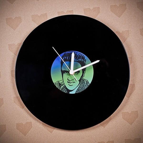 Vinylové hodiny Elvis Presley