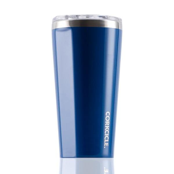 Modrý cestovní termohrnek Corkcicle Tumbler, 473 ml