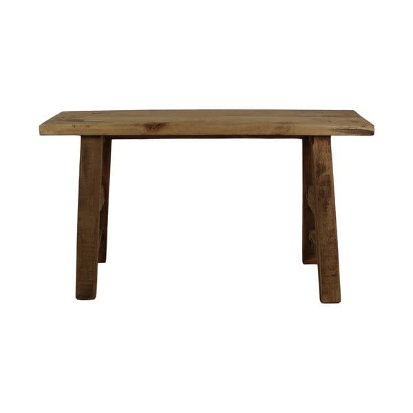 Lavice z teakového dřeva HSM collection Rustic, 80 cm
