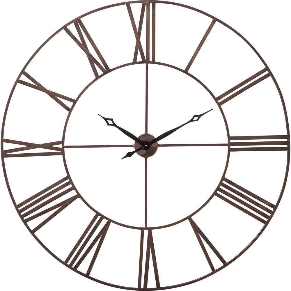 Nástěnné hodiny Kare Design Factory, výška 120 cm