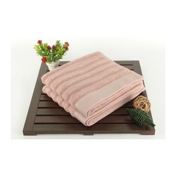 Set 2 prosoape Fance Dusty Rose, 50 x 90 cm