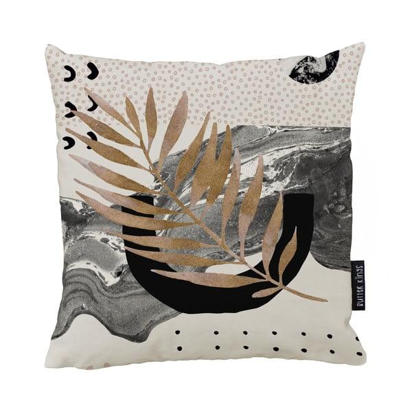 Poduszka Butter Kings z bawełny Marbling Flow, 50x50 cm