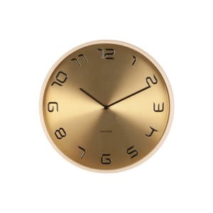 Zlaté hodiny Present Time Bent