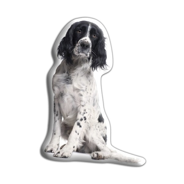 Polštářek Adorable Cushions Černobílý špringeršpaněl