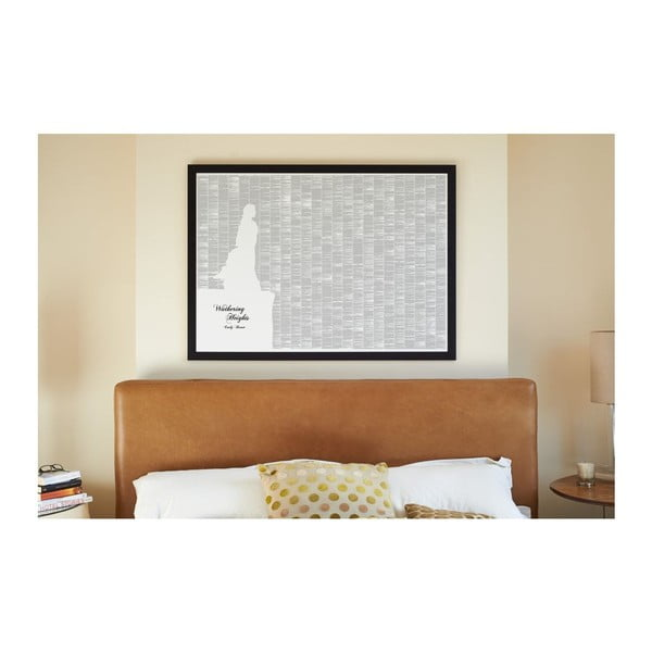Knižní plakát Na větrné hůrce, 118,9x84,1 cm
