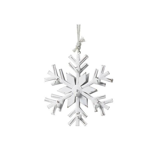 Závěsná vánoční dekorace Parlane Snowflake