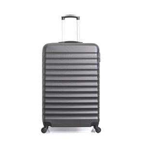 Černý cestovní kufr na kolečkách Hero Meropi, 60 l