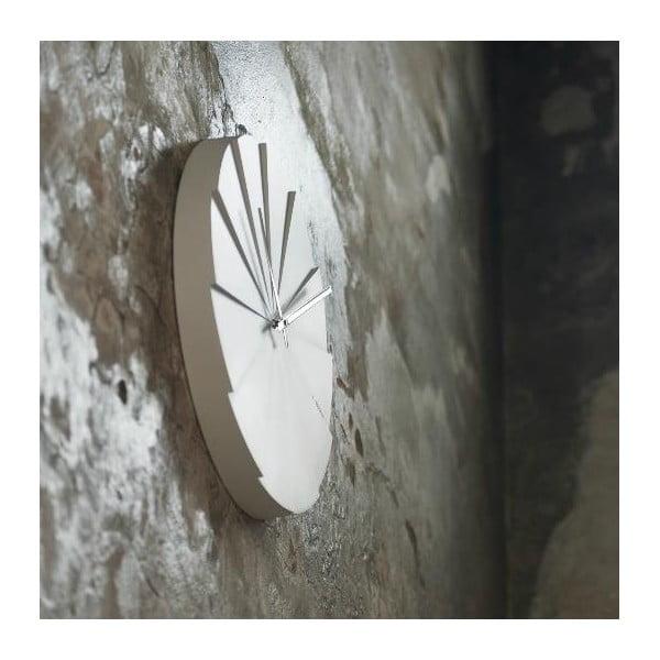 Nástěnné hodiny White Scope, 45 cm