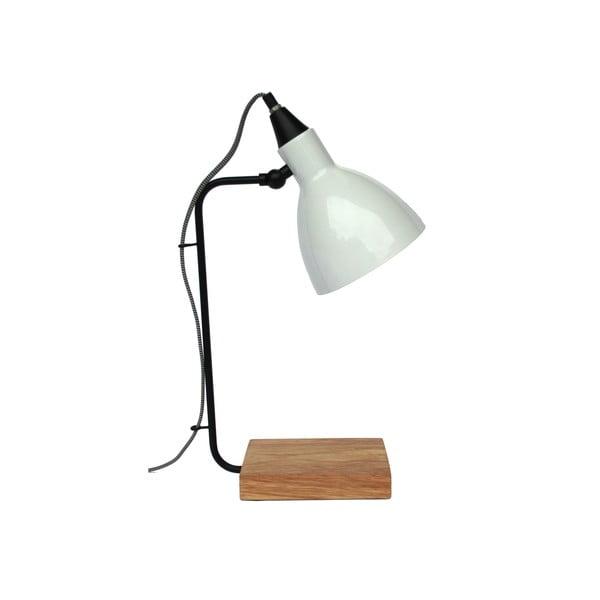 Stolní lampa Hampton White