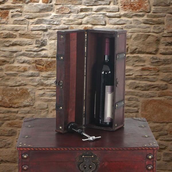 Box Shabby na lahev vína
