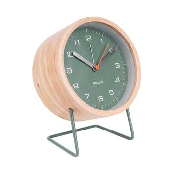 Ceas alarmă Karlsson Innate, verde de la Karlsson