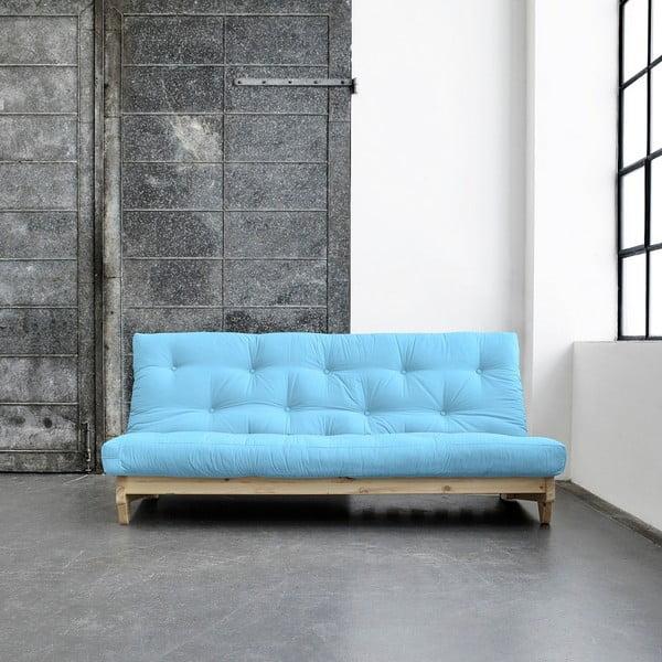 Canapea extensibilă Karup Fresh Natural/Celeste