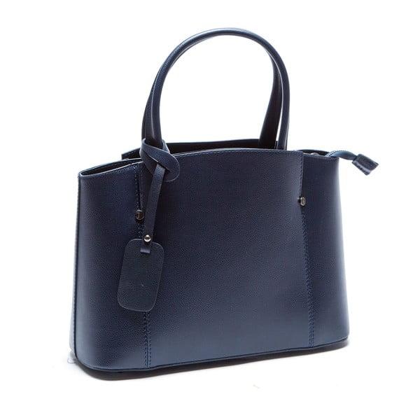 Modrá kožená kabelka Sofia Cardoni Irene