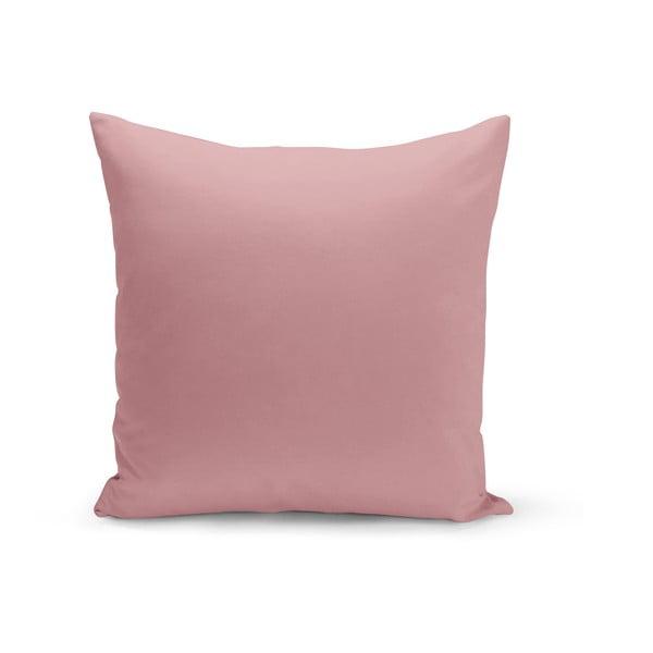 Starorůžový polštář s výplní Lisa, 43 x 43 cm