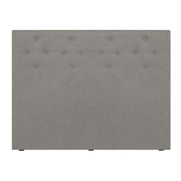 Světlo šedé čelo postele Windsor & Co Sofas Phobos, 140 x 120 cm