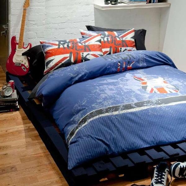 Povlečení Rock UK, 200x200 cm