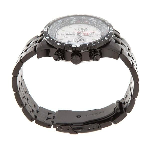 Pánské hodinky Swiss Military Pilot Black