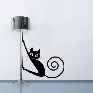 Samolepka na zeď Kočička, 70x50 cm