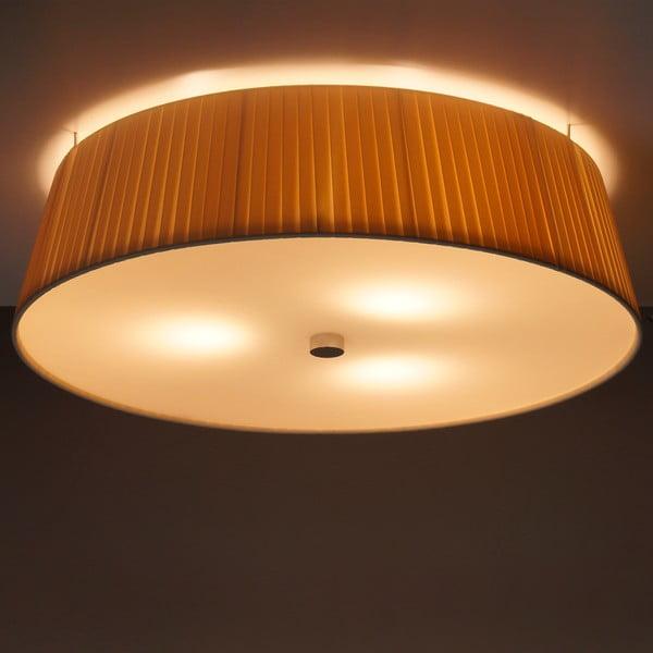 Krémové stropní svítidlo Bulb Attack Dos Plisado,⌀45cm