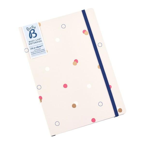 Agendă punctată Busy B, A5, 96 file