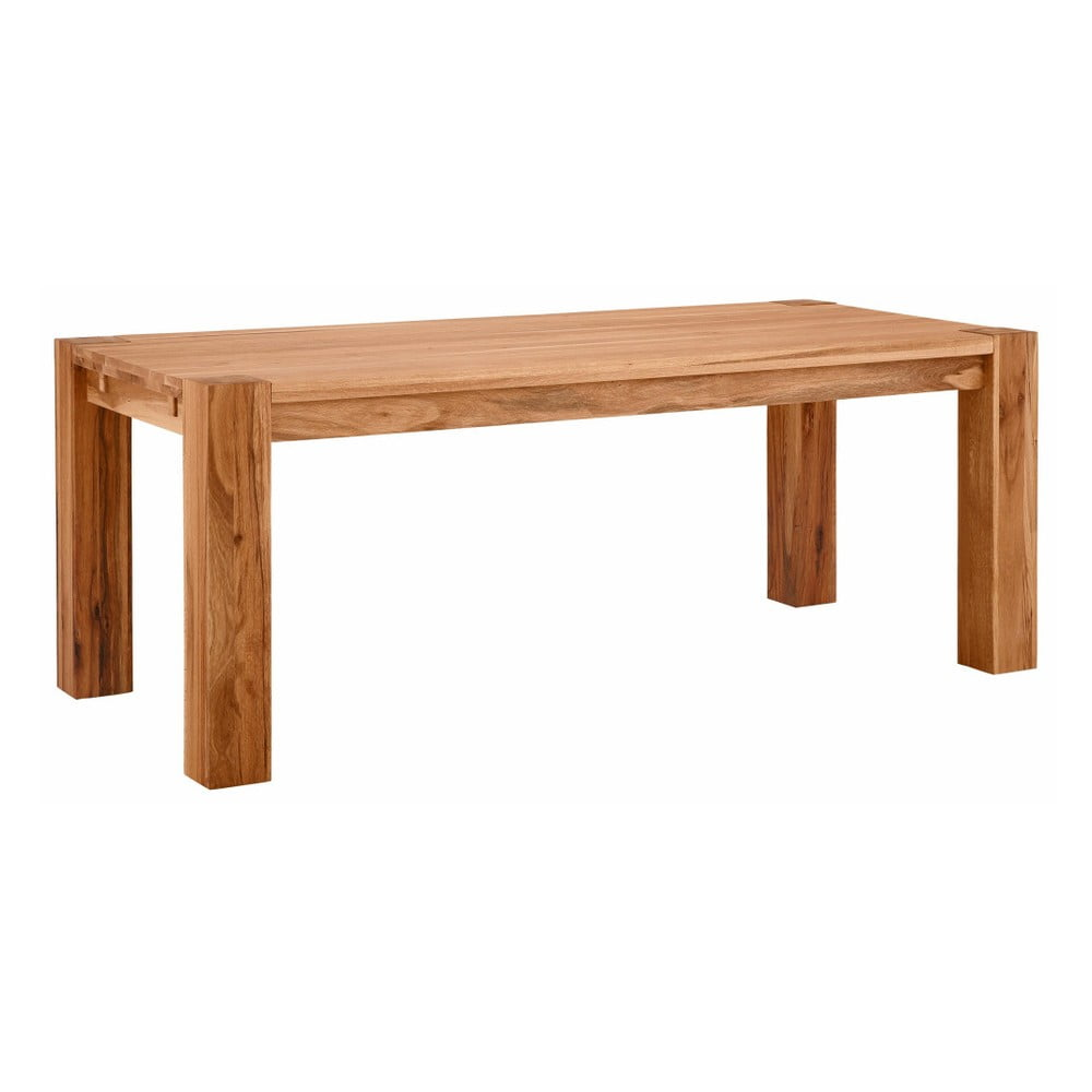 Jídelní stůl z masivního dubového dřeva Støraa Matrix, 90x200cm