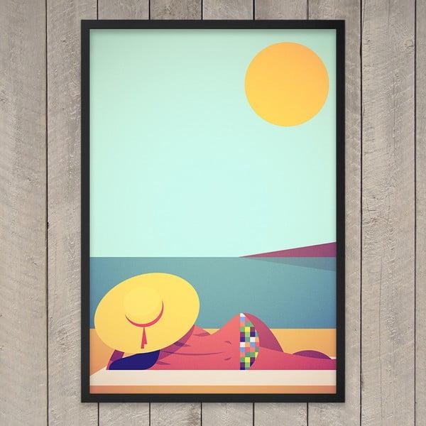 Plakát Jadore Le Soleil, 29,7x42 cm