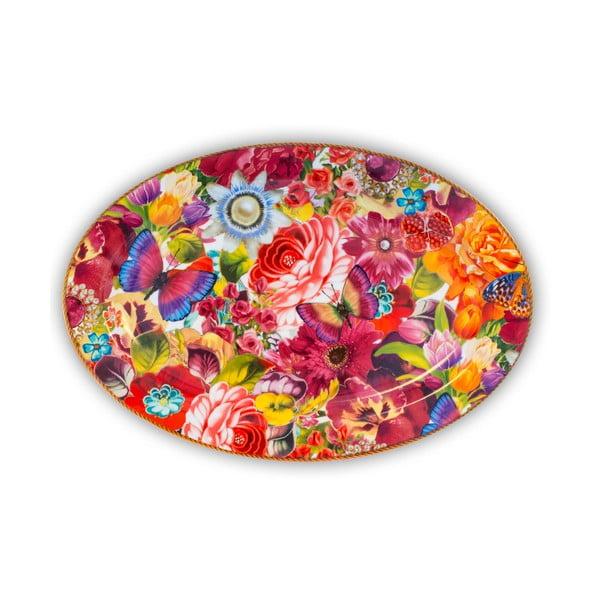 Porcelánový podnos Melli Mello Eliza, 35.5 cm