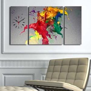 Obrazové hodiny Barvy duhy