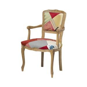 Dřevěná židle Evergreen House Patchwork Hanz