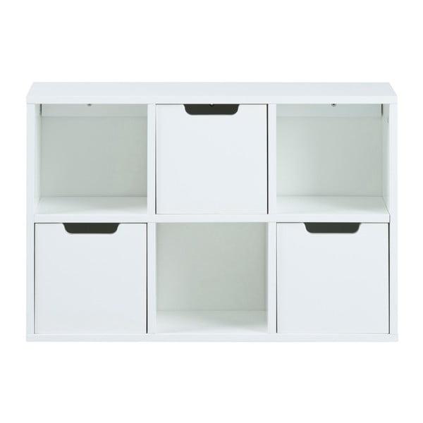 Mitra fehér fali szekrényrendszer - Actona