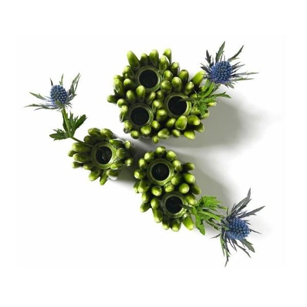 Kameninová váza Grass, jeden otvor na květiny