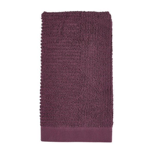 Tmavofialový uterák Zone Classic, 50×100cm