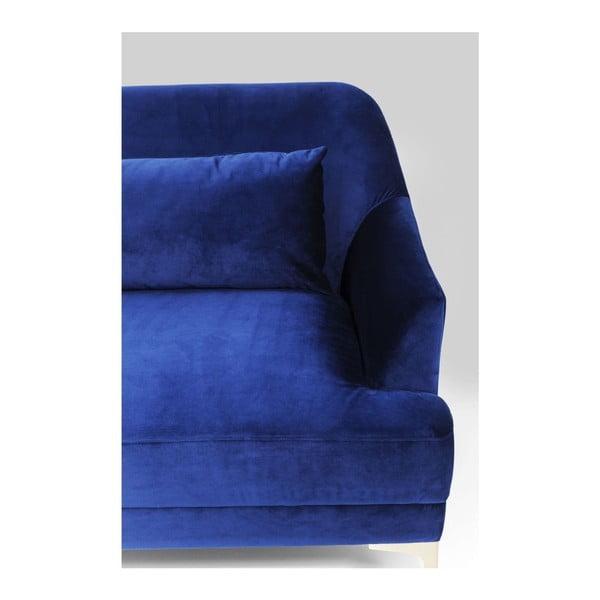 Modrá trojmístná pohovka Kare Design Proud