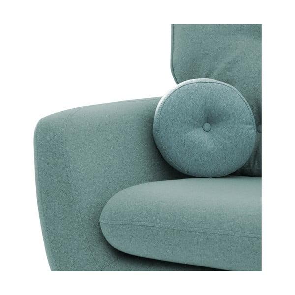 Canapea cu 3 locuri Vivonia Malva, albastru